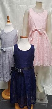 jurk roze, grijs of donker blauw in 86 tm 152