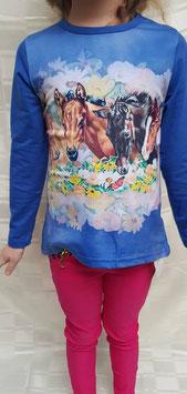 Shirt met paarden