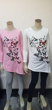 2 delig set in roze/grijs of wit/zwart