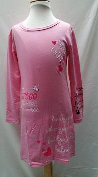 Fuctia of Roze jurkje 110/116