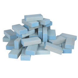 Fröbel-Bausteine Set Pastell Blau