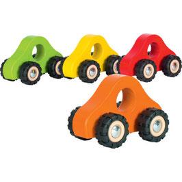 Auto mit Gummireifen