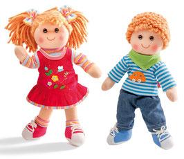Nelli und Niki Puppen
