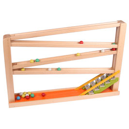 Kugelbahn mit Glockenspiel Version 2