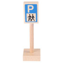 Verkehrszeichen Wanderparkplatz