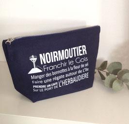 """Petite pochette à soufflet """"Noirmoutier"""""""