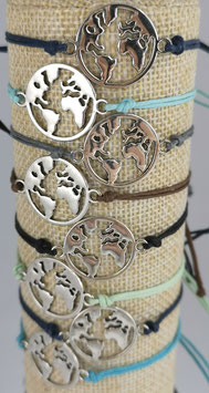 Globetrotter-Armband