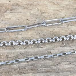 Bettel-Fußkette Silber