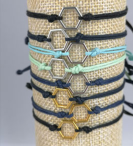Hexagon-Armband