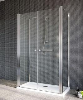 """Teilgerahmte U-Dusche """"Iraklio"""""""