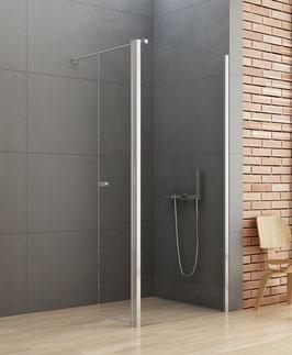 """Rahmenlose Walk-In-Dusche """"New Soleo"""""""