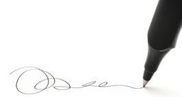 Réception contre signature (envoi sécurisé)