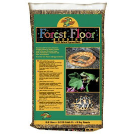 Zoomed Forest Floor Bedding 8,8l