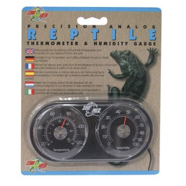 Zoomed Dual Thermo / Humidity Gauge