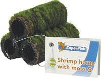 Superfish garnalenflat met mos maat S