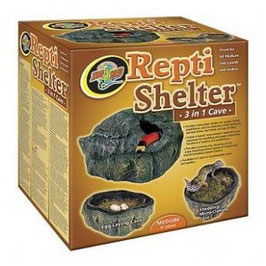 Zoomed Repti Shelter small 3 in 1 cave ​- M