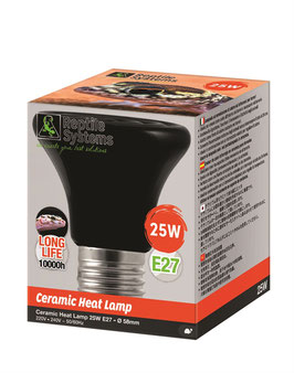 Reptile Systems CERAMIC HEAT EMITTER LAMP 25W