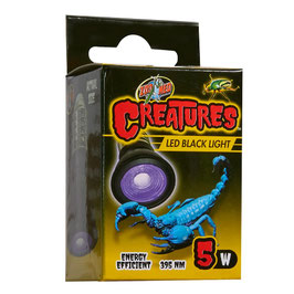 Zoomed Creatures Black Light 5W