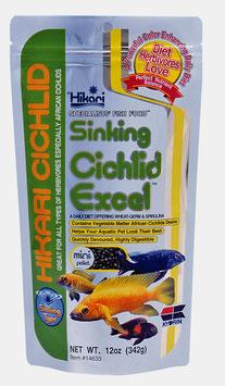 Hikari Cichlid Excel Mini Zinkend