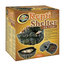 Zoomed Repti Shelter small 3 in 1 cave ​