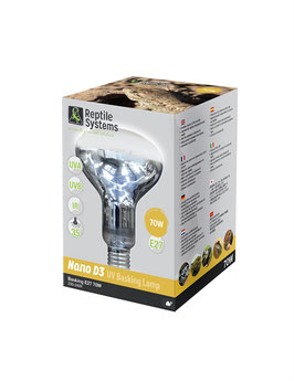 Reptile Systems D3 UV BASKING LAMP NANO 70W E27