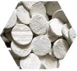 Frag Disks - Stekstenen rond 4,5 cm (10 stuks)