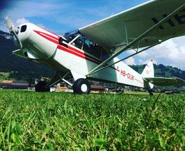 Fotoflüge mit der Piper Super Cub