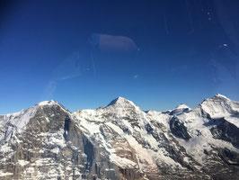Rundflug Eiger, Mönch und Jungfrau ab Zweisimmen 1 Stunde