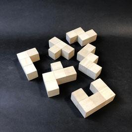 ポリオミノパズル(木製)