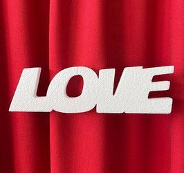 """Scritta """"LOVE"""" Tipo 2 in polistirolo"""