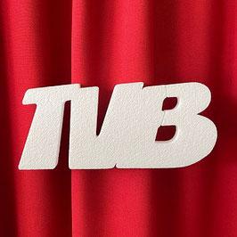 """Scritta """"TVB"""" Tipo 2 in polistirolo"""