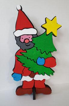 Forma Babbo Natale tipo 1 in polistirolo grezzo