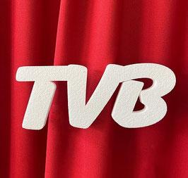 """Scritta """"TVB"""" Tipo 1 in polistirolo"""