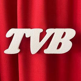 """Scritta """"TVB"""" Tipo 3 in polistirolo"""