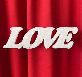 """Scritta """"LOVE"""" Tipo 3 in polistirolo"""