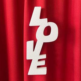 """Scritta """"LOVE"""" Tipo 4 in polistirolo"""