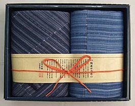 縞屋の治作 多重織ガーゼ フェイスタオル・ミニタオル