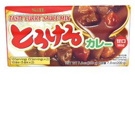 S&B Torokeru Curry Mild 200g