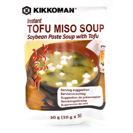 KIKKOMAN Instant Tofu Miso Suppe 30g
