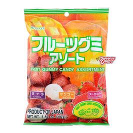 Fruit Gummy Candy Kasugai   フルーツグミアソート