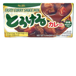 S&B Torokeru Curry Mittelscharf 200g