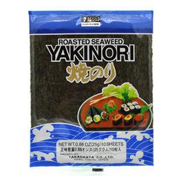 Takaokaya Sushinori 25g (10 Blätter) 焼きのり