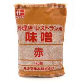 Hanamaruki Ryoriten Aka Miso 1KG ハナマルキ料理店味噌赤