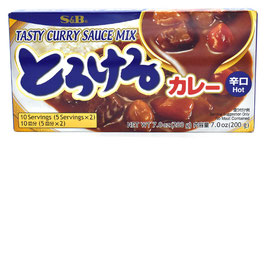 S&B Torokeru Curry Scharf 200g