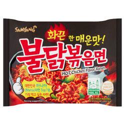 SAMYANG Hot Chicken Flavor Ramen  130g. Hochi