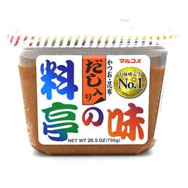 MARUKOME Ryotei no Aji Cup Dashi-Iri 750g マルコメ料亭の味だしいり
