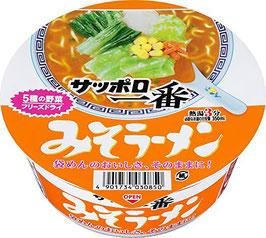 Sapporo Ichiban Miso Cup サッポロ一番みそラーメン