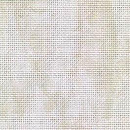 Coupon toile Aida 7 pts au cm - Marbré clair beige - 50 x 55 cm