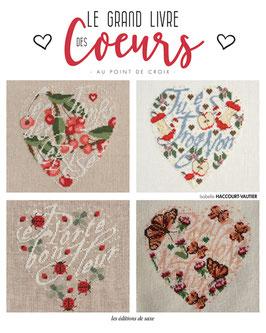 """Livre """" Le Grand Livre des Coeurs """" de © Isabelle Haccourt Vautier"""