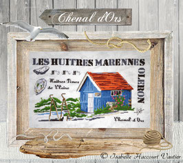 "ISA17 / "" Les Huitres Marennes Oléron """